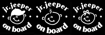 Junior Jeepers On Board
