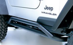 Wrangler rocker guards