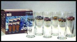 Jeep Beer Glasses